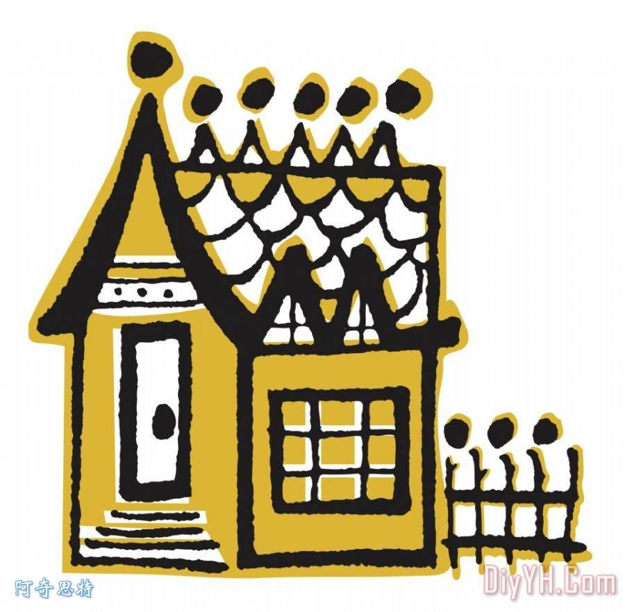 房子装饰画