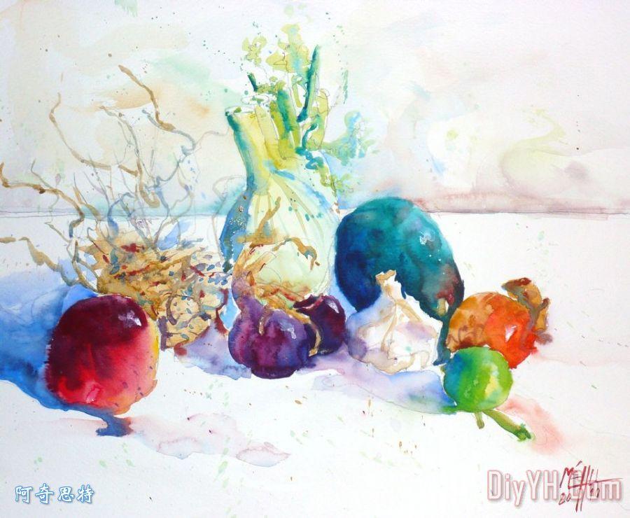 蔬菜和水果装饰画