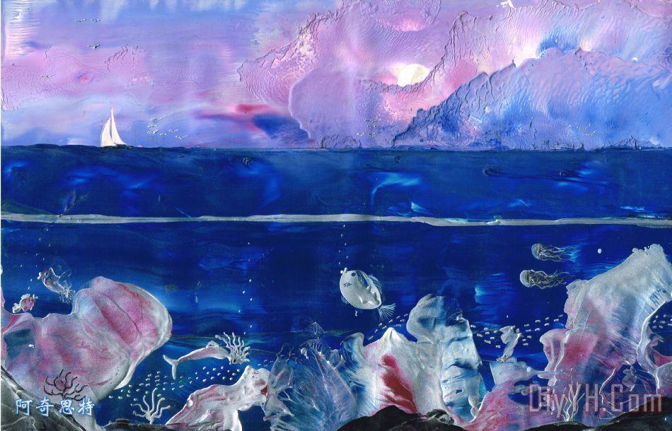 美人鱼礁装饰画