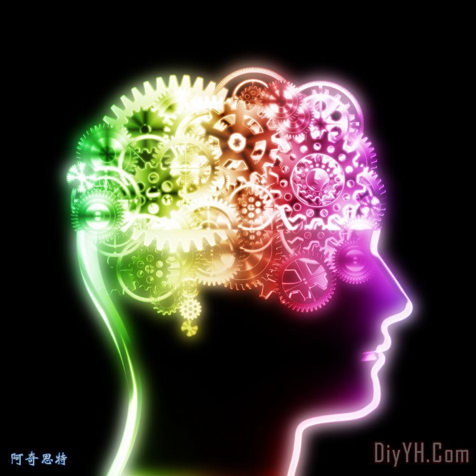 脑设计制作齿轮和齿轮装饰画