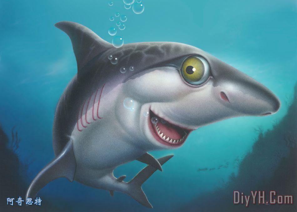 可爱头像鲸鱼 无水印