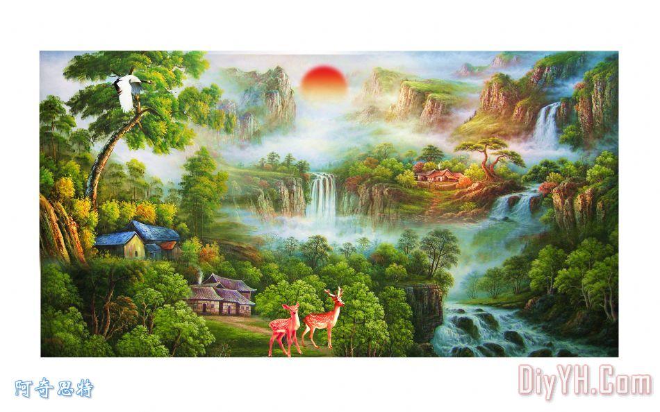 风景油画 - 风景油画装饰画
