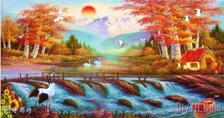 油画风景 - 油画风景装饰画